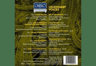 Beczala/Bumbry/Fassbaender/Gruberová/+ - LEGENDARY VOICES  - (CD)