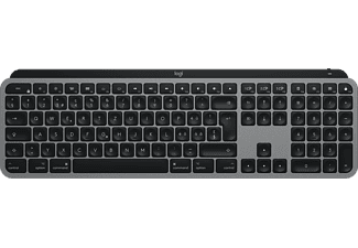 LOGITECH MX Keys per Mac - Tastiera wireless (Nero/Grigio)