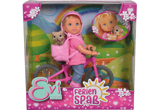 SIMBA TOYS EL Ferienspaß Fahrrad Spielzeugpuppe Mehrfarbig