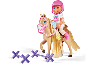 SIMBA TOYS EL Ferienspaß Pferdehof Spielzeugpuppe Mehrfarbig