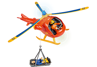 SIMBA TOYS Sam Hubschrauber Wallaby mit Figur Spielzeugfahrzeug Mehrfarbig