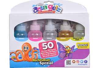 SIMBA TOYS Aqua Gelz Nachfüllset Spezial Mal-/Bastelspielzeug, Mehrfarbig