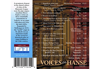 Jonathan William Moyer - Voices of the Hanse,Vol.1  - (CD)