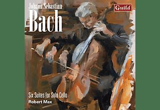 Robert Max - 6 Suiten für Violoncello solo  - (CD)