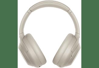 SONY Bluetooth Kopfhörer WH-1000XM4 mit Geräuschminimierung, silber