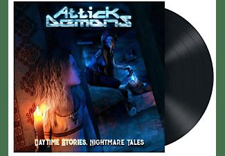 Attick Demons - DAYTIME STORIES NIGHTMARE TALES (BLACK VINYL)  - (Vinyl)