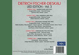 Dietrich Fischer-dieskau & Hartmut Höll - DIETRICH FISCHER-DIESKAU - LIED EDITION, VOL. 3  - (CD)
