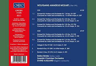 Baiba/aadland/swedish Chamber Orchestra Skride - VIOLIN CONCERTOS NOS. 1-5  - (CD)