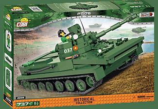 COBI COBI 2235 VIETNAM WAR LIGHT AMHIBIOUS TANK PT-76 Modelpanzer, Mehrfarbig