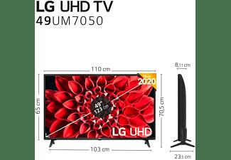 "TV LED 49"" - LG 49UM7050PLF, Smart TV 4K UHD, webOS 4.5, HDR10 Pro, HLG, Ultra Surround, HDMI, USB, WiFi [A]"
