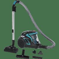 HOOVER HP 710 PAR 011 Staubsauger, maximale Leistung: 850 Watt, Luxor Schwarz/Wasserblau)
