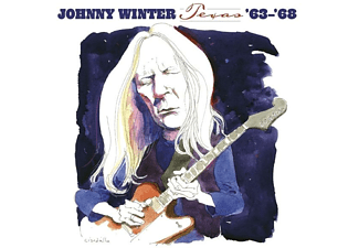 Johnny Winter - TEXAS '63-'68  - (CD)