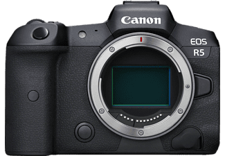 CANON EOS R5 Body Systemkamera, 8,01 cm Display Touchscreen, WLAN