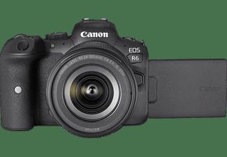 CANON EOS R6 Kit Systemkamera mit Objektiv 24-105 mm, 7,5 cm Display