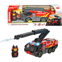 DICKIE TOYS RC Airport Fire Brigade R/C Spielzeugauto Mehrfarbig/Rot