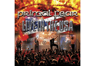 Primal Fear - LIVE IN THE USA (WHITE+BLUE+RED MARBLED LP)  - (Vinyl)