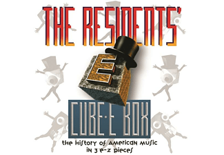 The Residents - CUBE-E BOX: HISTORY OF AMERICAN MUSIC IN 3 E-Z PIE  - (CD)