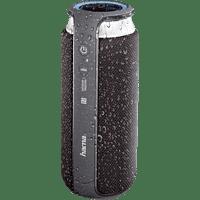 HAMA Soundcup-L Bluetooth Lautsprecher, Schwarz/Silber, Wasserfest