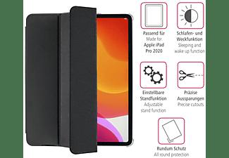 HAMA Fold Clear Tablethülle Bookcover für Apple Polyurethan, Schwarz