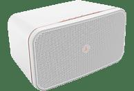 HAMA Sirium2000AMBT Smart Speaker App-steuerbar, Bluetooth, WiFi 2.4 GHz (b/g/n)/5 GHz (a/n) 1x1 MiMo WiFi, Weiß