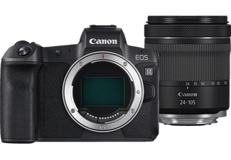 CANON EOS R Body + RF 24-105mm F4-7.1 IS STM - Appareil photo à objectif interchangeable (Résolution photo effective: 30.3 MP) Noir