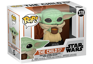 Figura - Funko Pop! The Child with Cup, The Mandalorian (Star Wars)
