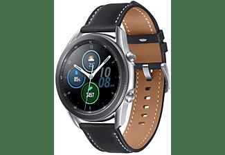 """Smartwatch - Samsung Galaxy Watch3, 45 mm, 1.4"""", Bluetooth, Exynos 9110, 8GB, 340 mAh, 5 ATM, Acero Inox,Plata"""
