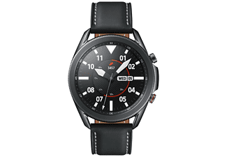 "Smartwatch - Samsung Galaxy Watch3, 45mm, 1.4"", WiFi+Cellular, Exynos9110, 8GB, 340mAh, 5ATM, Acero Inox,Negro"