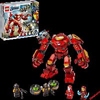 LEGO Iron Man Hulkbuster vs. A.I.M.-Agent Spielset, Mehrfarbig
