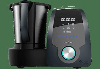 Robot de cocina - Cecotec Mambo 8090, 1700 W, 3.3 l, Acero Inoxidable, MamboMix, Negro