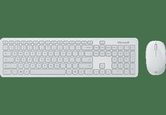 MICROSOFT Bluetooth Desktop Tastatur-Maus Set, Monza Grau