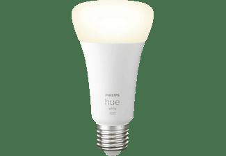 PHILIPS Hue White E27 Lampe, Weiß