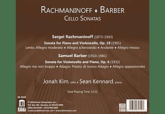 Kim,Jonah/Kennard,Sean - Cellosonaten  - (CD)