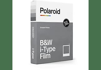 POLAROID Sofortbildfilm Schwarz und Weiß für i-Type Sofortbildfilm weißer Rahmen