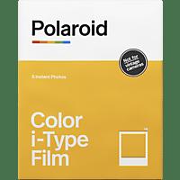 POLAROID Sofortbildfilm Farbe für i-Type Sofortbildfilm weißer Rahmen