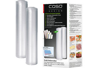 CASO 1223 28x600 2er Folienrolle Transparent