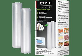 CASO 1222 30x600 2er Folienrolle Transparent