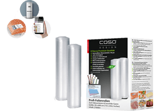 CASO 1221 20x600 2er Folienrolle Transparent