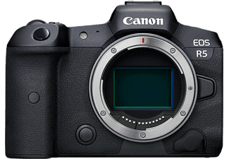 CANON EOS R5 Body - Appareil photo à objectif interchangeable (Résolution photo effective: 45 MP) Noir