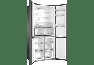 HAIER HTF-508DGS7 French Door Kühlgefrierkombination (F, 1900 mm hoch, Iconic Glas Grey)