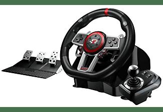 Volante - FR-TEC eSports Suzuka Wheel Elite, Multiplataforma, Pedales, Cambio de marchas, Escala 1:1, Negro