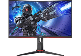 AOC Gaming Monitor C32G2ZE Curved, 31.5 Zoll, FHD, 240Hz, 1ms, Schwarz