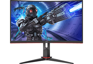 AOC Gaming Monitor C27G2ZE Curved, 27 Zoll, FHD, 240Hz, 0.5ms, Schwarz