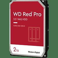 WD Red™ Pro NAS-Festplatte 2 TB, BULK, 2 TB, HDD, 3,5 Zoll, intern