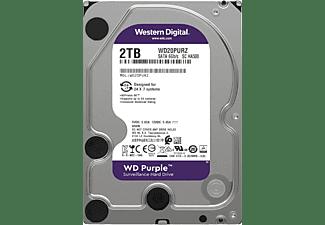 WD Purple™ 2 TB, BULK, 2 TB, HDD, 3,5 Zoll, intern