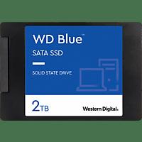WD Blue™ 3D NAND SATA, 2 TB, SSD, 2,5 Zoll, intern