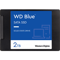 WD Blue™ 3D Festplatte, 2 TB SSD SATA 6 Gbps, 2,5 Zoll, intern
