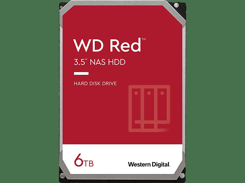 WD Red , 6 TB, HDD, 3,5 Zoll, intern