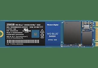 WD Blue™ SN500 NVMe™ Festplatte, 250 GB SSD M.2 via PCIe, intern