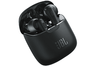 Auriculares inalámbricos - JBL 220TWS, Bluetooth 5.0, Autonomía 3 horas, Negro
